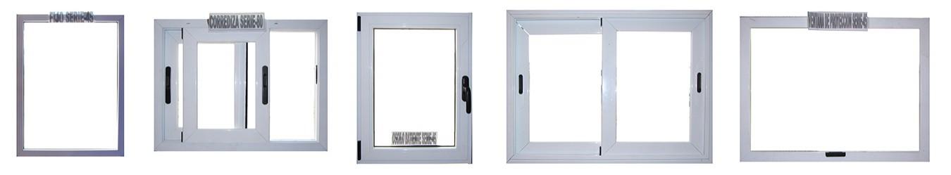 Marcos y ventanas de aluminio