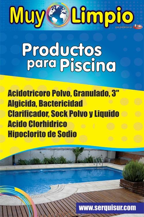 Productos para piscina