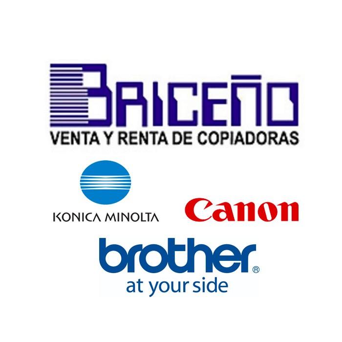 Copiadoras Briceño Konica Minolta, Canon y  Brother