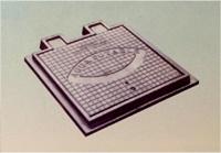 Marco y tapa para agua potable 50 x 50 cm