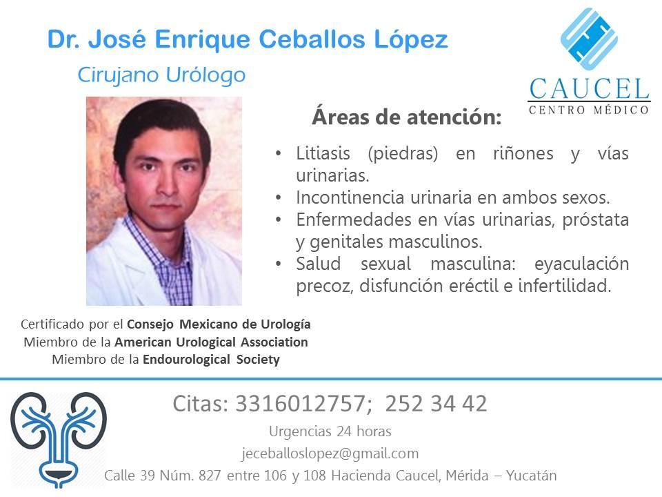 Dr. José Enrique Ceballos López