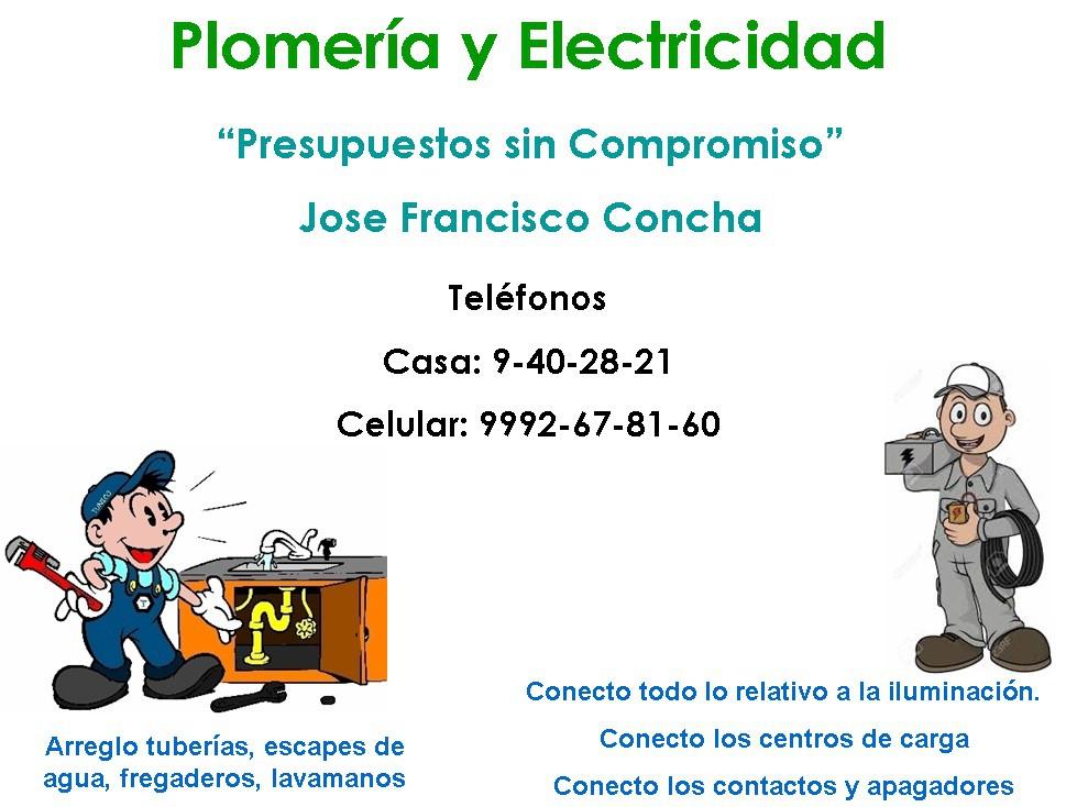 Electricidad y Plomeria