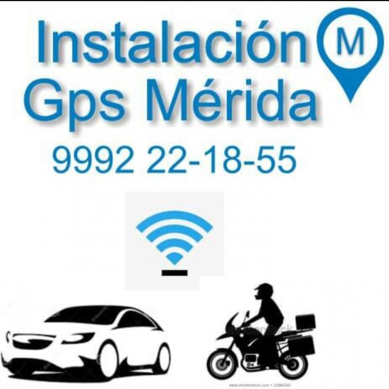 Instalación gps