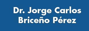 Dr. Jorge Carlos Briceño Perez